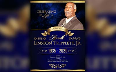 Apostle Linston Tripplett, Jr. 1935-2020