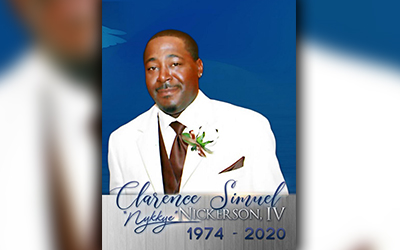 Clarence Simuel Nickerson IV 1974 – 2020