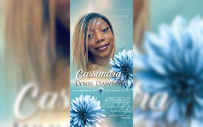 Cassandra Lynn Dawson 1984 – 2020