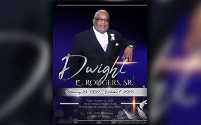 Dwight L. Rodgers 1950-2020