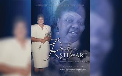 Roslyn Stewart 1952-2021
