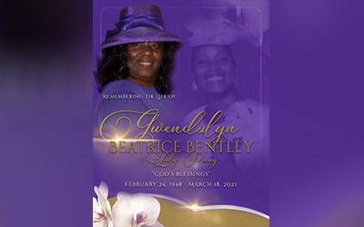 Gwendolyn Bentley 1948-2021